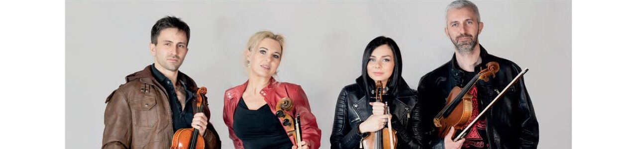 Koncert kwartetu smyczkowego AQuartet